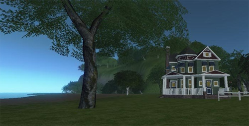 Residence in Caledonia, Blue Mars