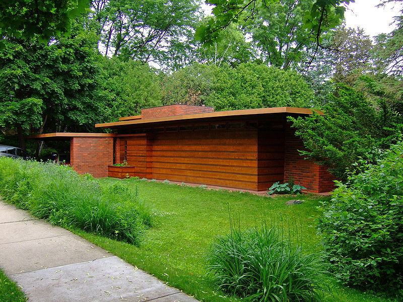 Usonian build competition this weekend prim perfect for Frank lloyd wright usonian home plans