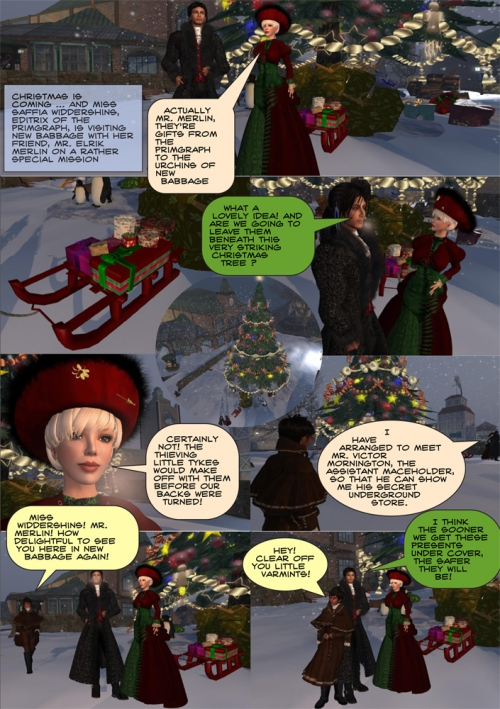Christmas in New Babbage - Part 1