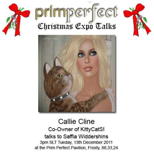 Christmas Expo Talk: Callie Cline
