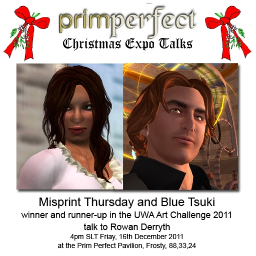 Christmas Expo Talk: Misprint Thursday and Blue Tsuki