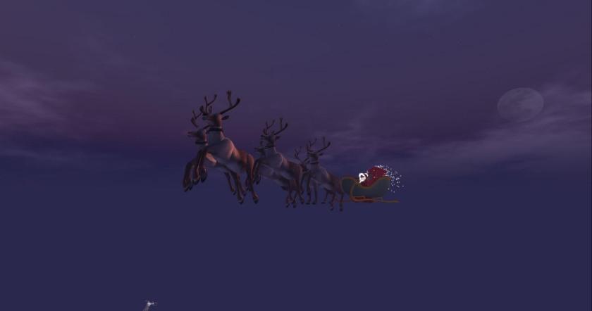 Santa and the Sim Crossing
