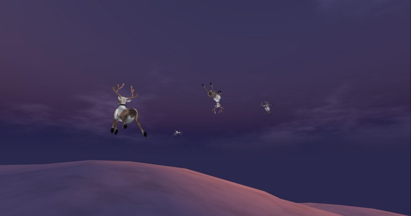 The scattered reindeer