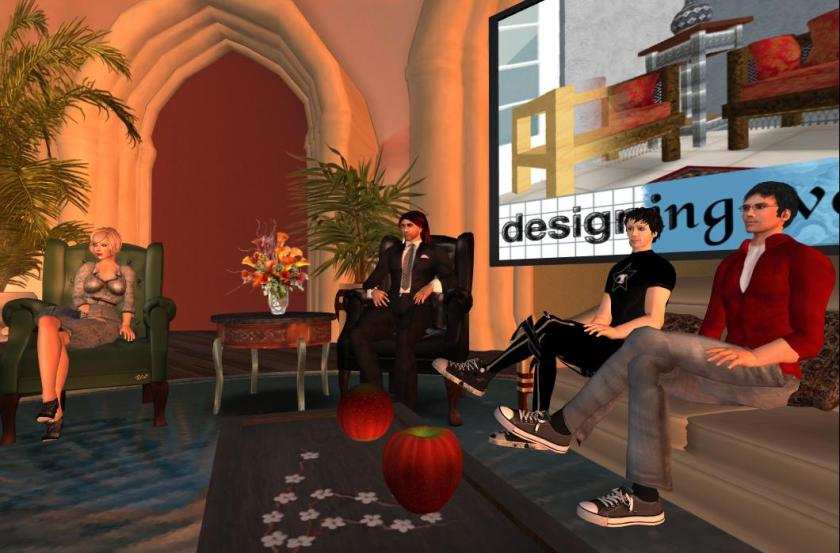 Jack Linden and Dusan Writer on Designing Worlds: photograph by Wildstar Beaumont