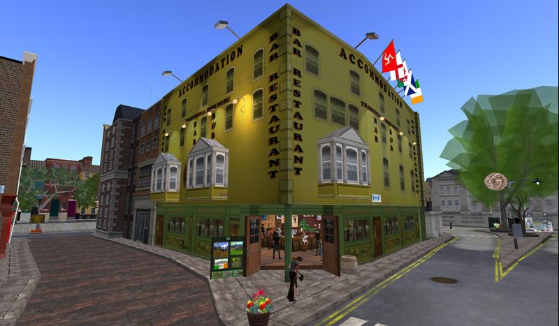 The Blarney Stone in Second Life Dublin
