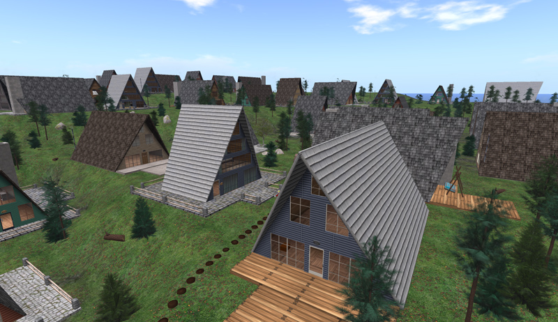 Linden Mountain Homes - they're great places individually, but where's the community?