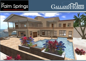 Palm Springs Home from Galland Homes