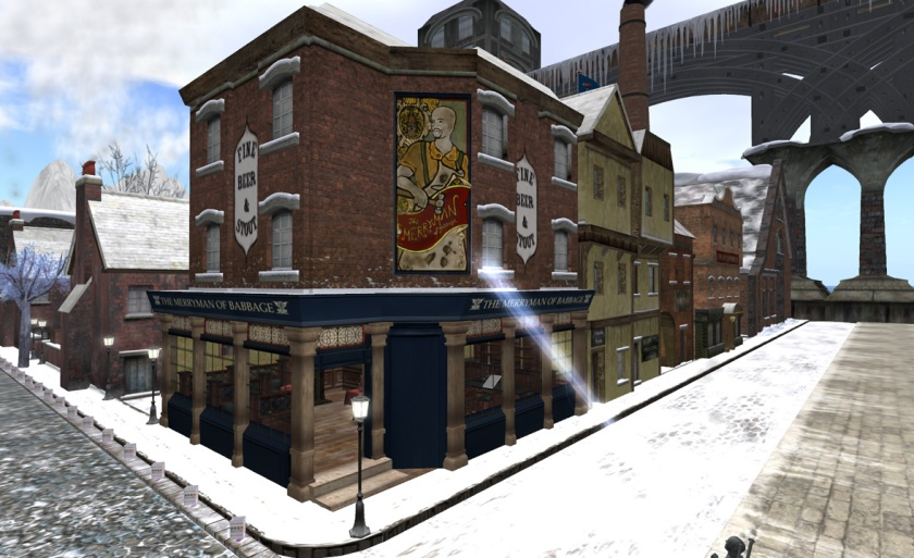 The Merryman Arms in Babbage at RFL 2011. photo by Judith Lefevre