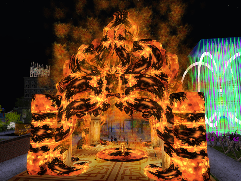 The Burning Temple at SL9B