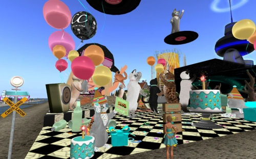 Party Cats at SL9B!