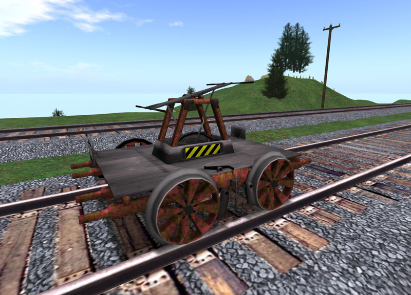 Another example of a mesh vehicle - the railcar provided to premium members in May 2012