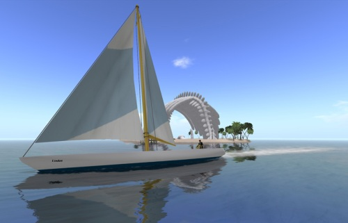 Example of a mesh vehicle - the yacht provided to premium members in November 2011