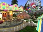 Funfair on RFL Knowledge, photographed by Judith Lefevre