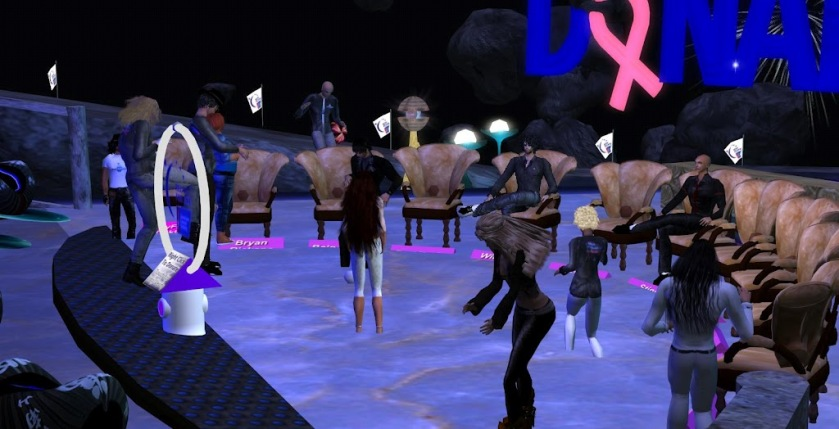 At the Kickoff in Inworldz
