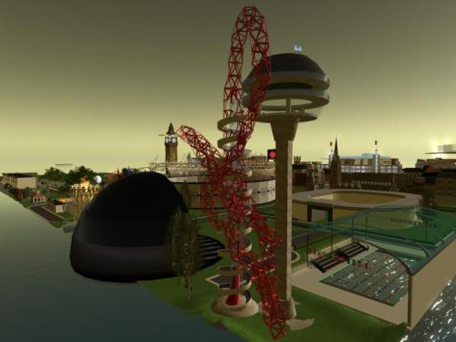 The Olympic Orbit at the London Community