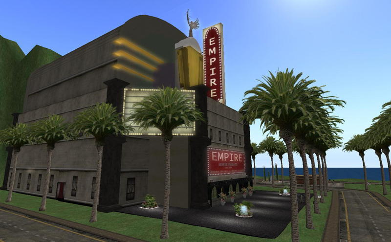 "The Empire Cinema - a part of the !Cinema!"" installation for the LEA"