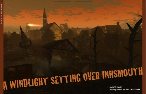 Prim Perfect No.43: October 2012 - Innsmouth