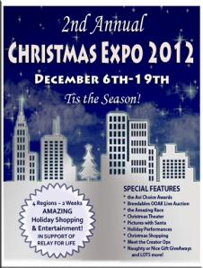 2012 Christmas Expo Poster