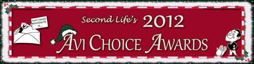 Avi Choice Awards - don't forget to nominate!