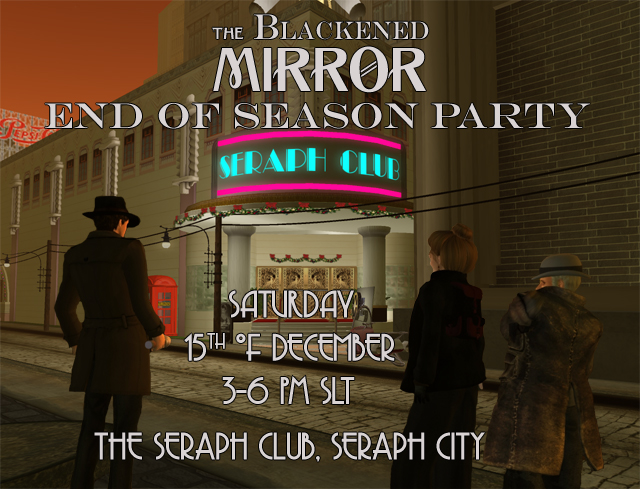 The Blackened Mirror End of Season Party