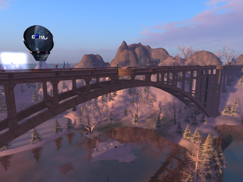The Bridge to Chamonix City