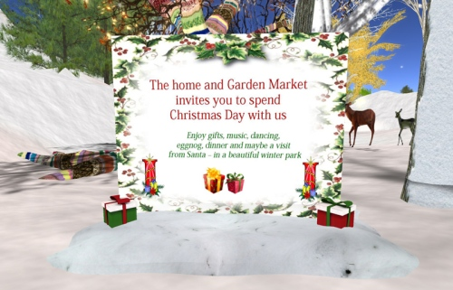 An Invitation from the Home and Garden Market