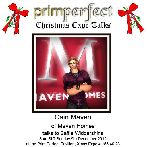 Meet Cain Maven