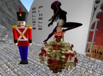 A Christmas Tree and a Toy Soldier
