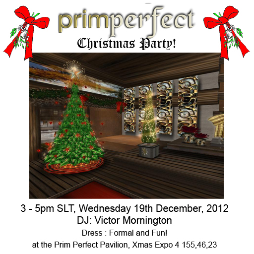 Prim Perfect Christmas Party