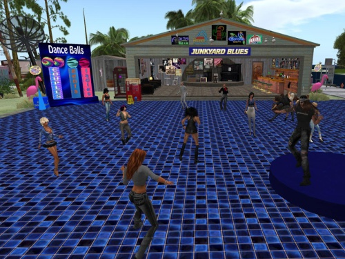 Junkyard Blues - the jive already jumping at 4.30am SLT