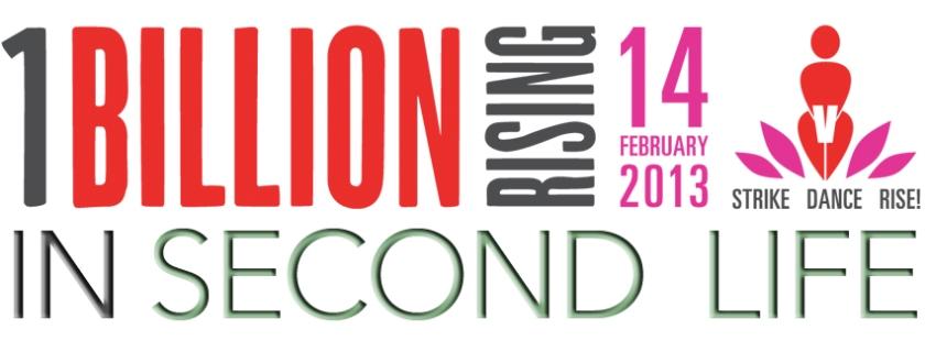 One Billion Rising in Second Life Logo