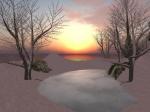 Winter Sunset on Cor Unum