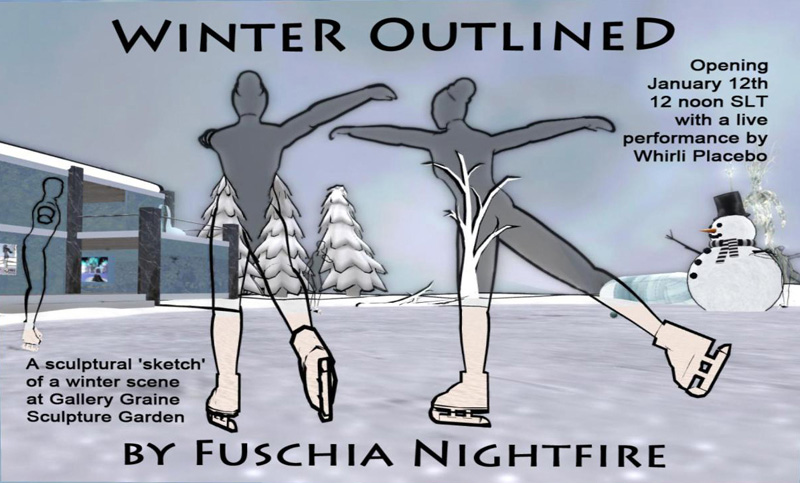 Winter Outlined poster