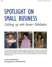 Prim Perfect Number 45 - February 2013: Spotlight on Small Businesses