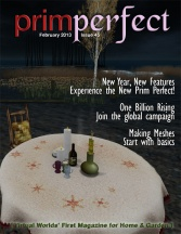 Prim Perfect Number 45 - February 2013: Cover