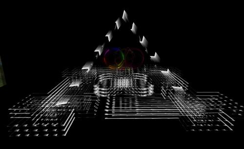 Solkide Auer's installation at One Billion Rising in Second Life