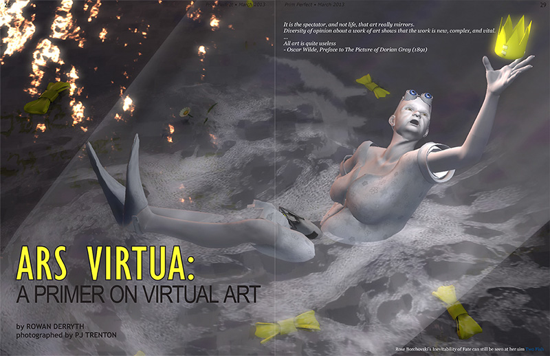 Prim Perfect: Issue 46 - March 2013 - Ars Virtua