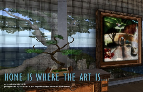 Prim Perfect: Issue 46 - March 2013 - Home is where the art is