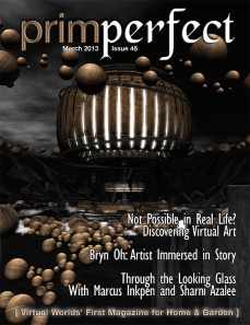 Prim Perfect: Issue 46 - March 2013 - cover