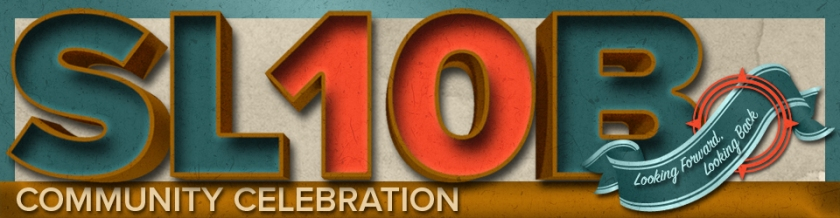SL10B Community Celebration logo