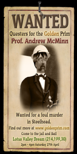 Wanted: Professor Andrew McMinn