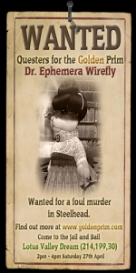 Wanted: Dr Ephemera Wirefly