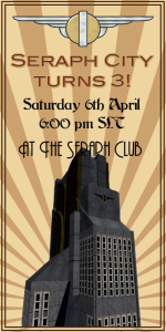 Seraph City's 3rd Birthday