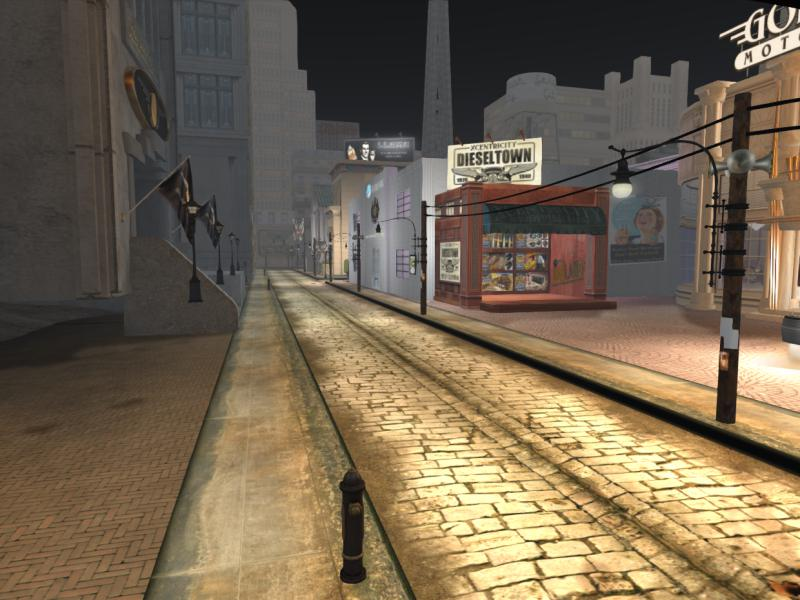 The Streets of Seraph City