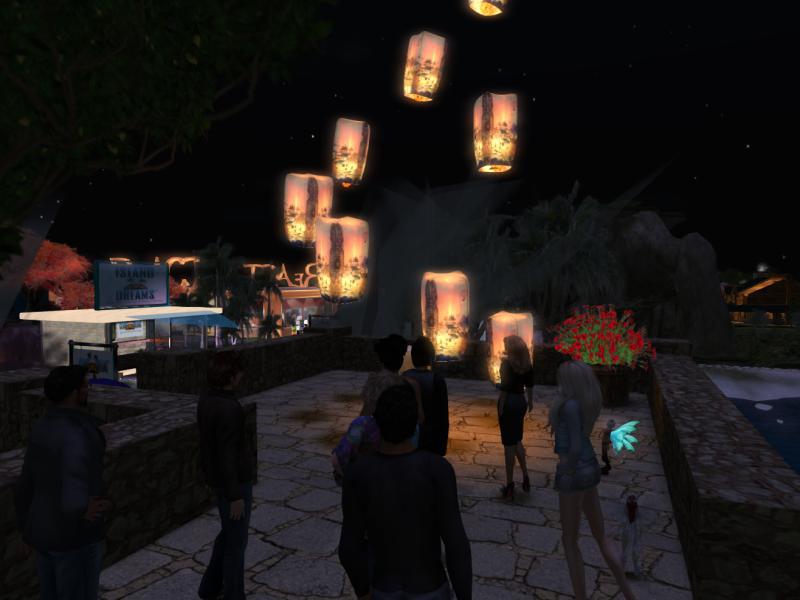 Lanterns Lifting