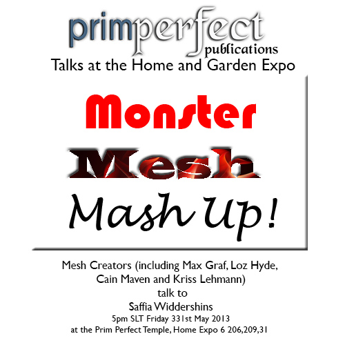 Neet the Designers: Monster Mesh Mash Up!