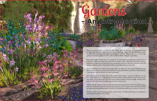 Prim Perfect May 2013 - Gardens