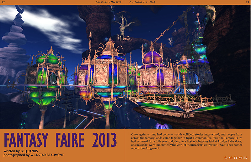 Prim Perfect May 2013 - Fantasy Faire