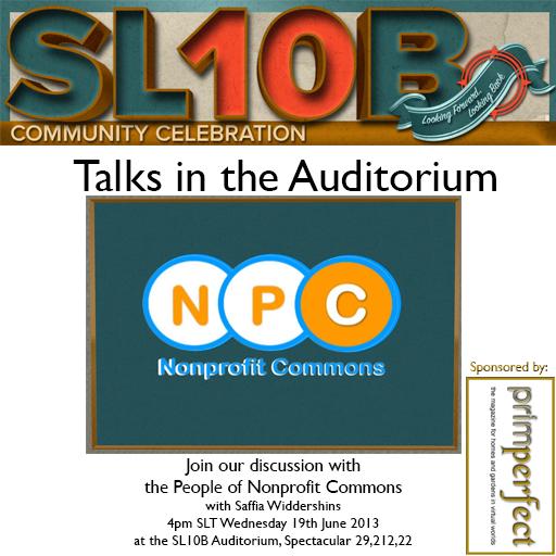 Non Profit Commons at the Auditorium