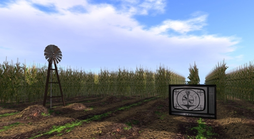 The Cornfield - photograph by Wildstar Beaumont